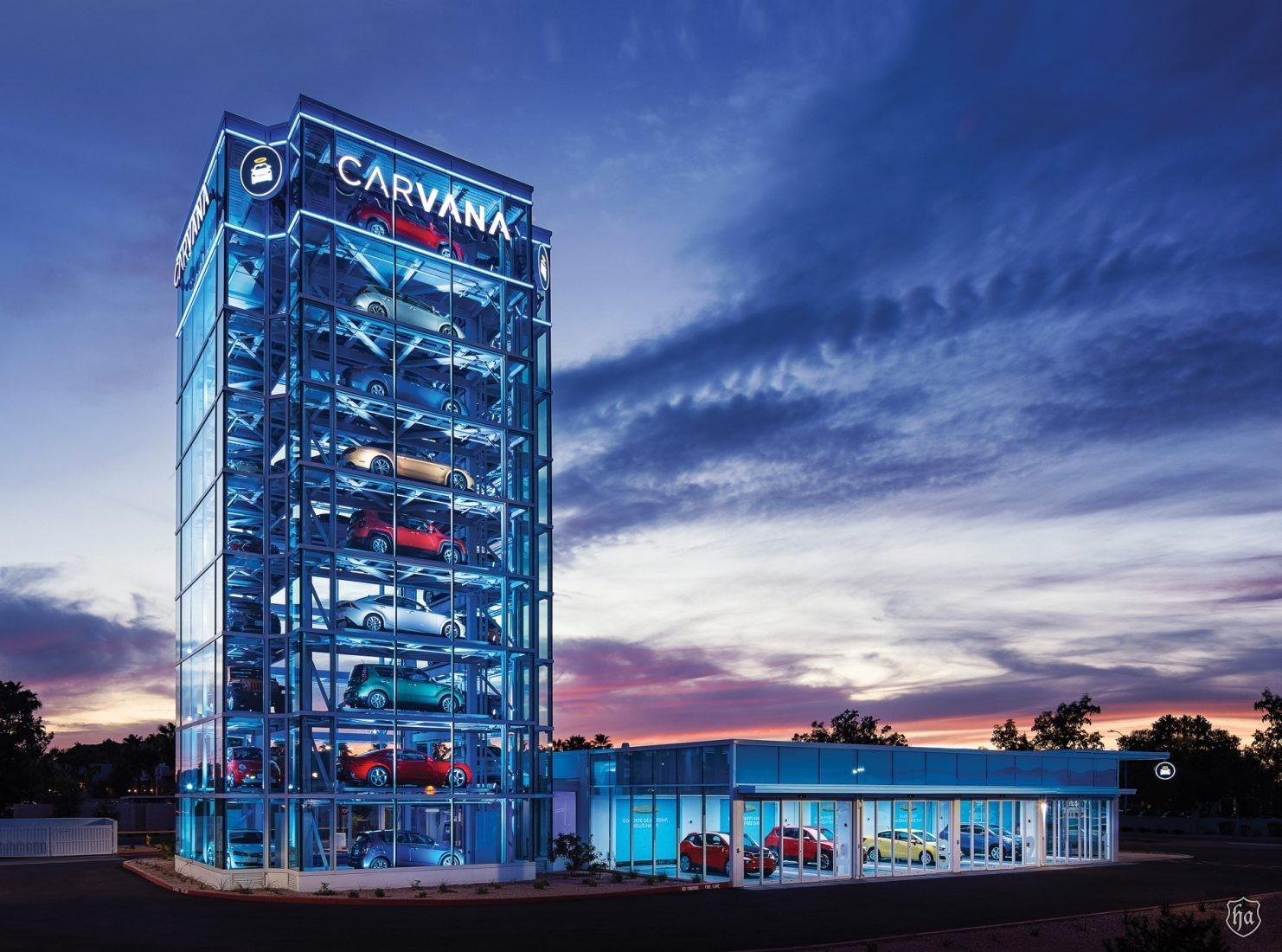 Acura Of Tempe >> Altered Carbon Online Car Sales Company Carvana Opens Largest Car Vending Machine in Tempe ...